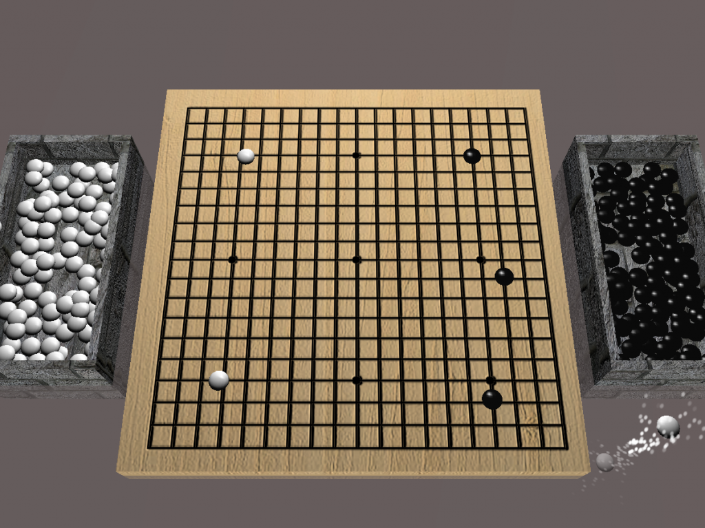 3D go board game opengl